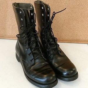 Vintage Military 1960s Paratrooper Jump Boots